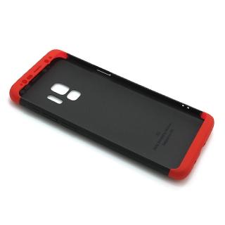 Futrola PVC 360 PROTECT za Samsung G960F Galaxy S9 crno-crvena