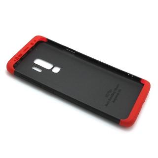 Futrola PVC 360 PROTECT za Samsung G965F Galaxy S9 Plus crno-crvena