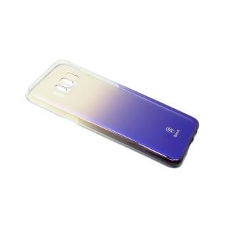 Futrola BASEUS Glaze za Samsung G955F Galaxy S8 Plus crno-ljubicasta