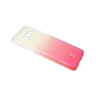 Futrola BASEUS Glaze za Samsung G955F Galaxy S8 Plus pink