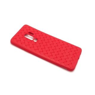 Futrola BASEUS Weaving za Samsung G965F Galaxy S9 Plus crvena
