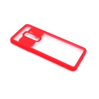 Futrola ELEGANT CLEAR za Samsung G965F Galaxy S9 Plus crvena