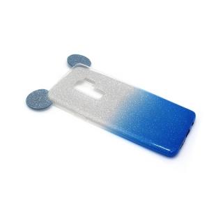 Futrola GLITTER MOUSE za Samsung G965F Galaxy S9 Plus srebrno/plava