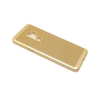 Futrola PVC BREATH za Samsung G965F Galaxy S9 Plus zlatna