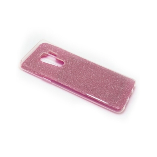 Futrola silikon GLITTER za Samsung G965F Galaxy S9 Plus roze
