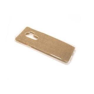 Futrola silikon GLITTER za Samsung G965F Galaxy S9 Plus zlatna