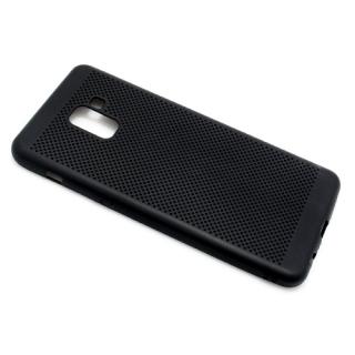 Futrola silikon BREATH za Samsung A730F Galaxy A8 Plus 2018 crna