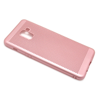 Futrola silikon BREATH za Samsung A730F Galaxy A8 Plus 2018 roze