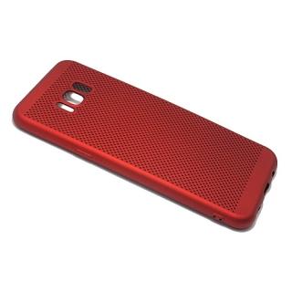 Futrola silikon BREATH za Samsung G955F Galaxy S8 Plus crvena