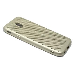 Futrola silikon BREATH za Samsung J330F Galaxy J3 2017 (EU) zlatna