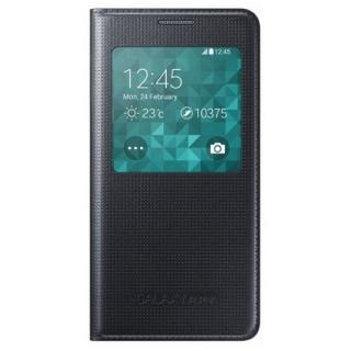 Samsung maska sa preklopom i prozorom Alpha crna