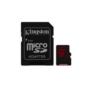 Kingston Mikro SDXC 128GB Kingston Canvas React cla UHS-I U3
