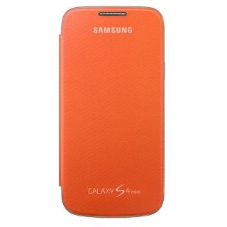 Samsung maska sa preklopom S4 mini narandzasta