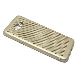 Futrola silikon BREATH za Samsung J710 Galaxy J7 2016 zlatna