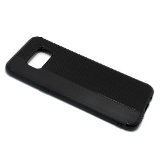 Futrola silikon CARBON LINE za Samsung G955F Galaxy S8 Plus crna