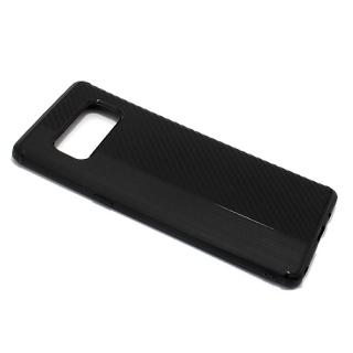 Futrola silikon CARBON LINE za Samsung N950F Galaxy Note 8 crna