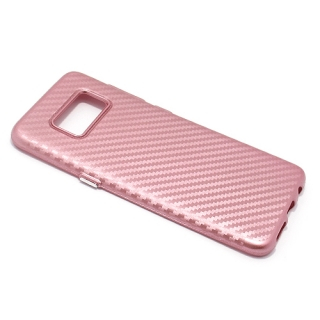 Futrola silikon CARBON za Samsung G950F Galaxy S8 roze