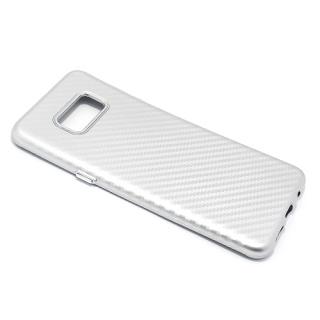 Futrola silikon CARBON za Samsung G955F Galaxy S8 Plus srebrna