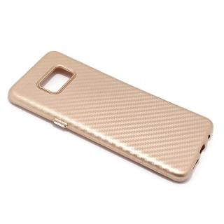 Futrola silikon CARBON za Samsung G955F Galaxy S8 Plus zlatna