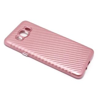 Futrola silikon CARBON za Samsung J710 Galaxy J7 2016 roze
