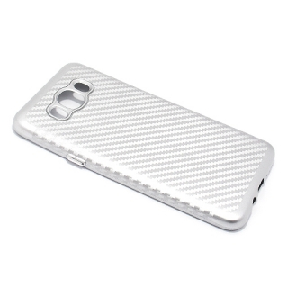 Futrola silikon CARBON za Samsung J710 Galaxy J7 2016 srebrna