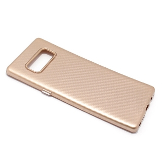 Futrola silikon CARBON za Samsung N950F Galaxy Note 8 zlatna