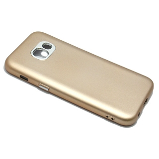 Futrola silikon METALIC FRAME za Samsung A320F Galaxy A3 2017 zlatna