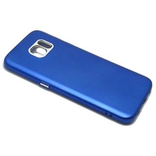 Futrola silikon METALIC FRAME za Samsung G935 Galaxy S7 Edge plava