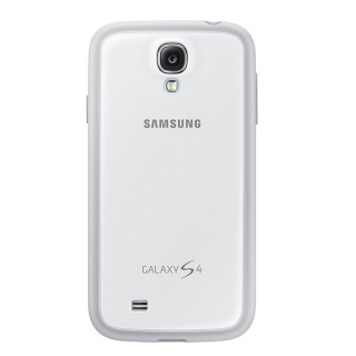 Samsung maska Plus S4 bela