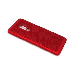 Futrola PVC BREATH za Samsung G965F Galaxy S9 Plus crvena