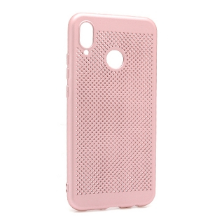 Futrola silikon BREATH za Huawei P20 Lite roze