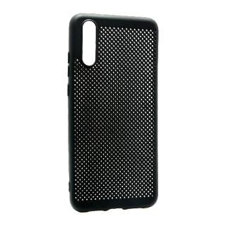 Futrola silikon BREATH za Huawei P20 crna