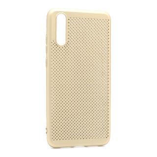 Futrola silikon BREATH za Huawei P20 zlatna