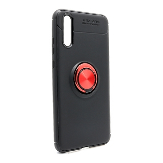 Futrola Elegant Ring za Huawei P20 crno-crvena
