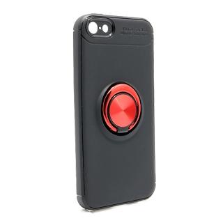 Futrola Elegant Ring za Iphone 5G/ Iphone 5S/ Iphone SE crno-crvena