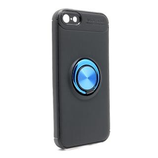 Futrola Elegant Ring za Iphone 5G/ Iphone 5S/ Iphone SE crno-plava