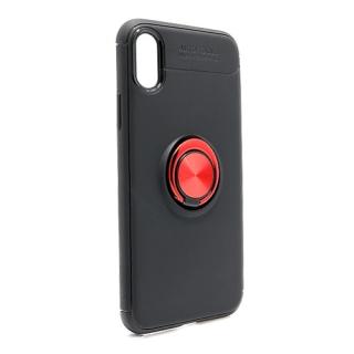 Futrola Elegant Ring za Iphone X/ Iphone XS crno-crvena