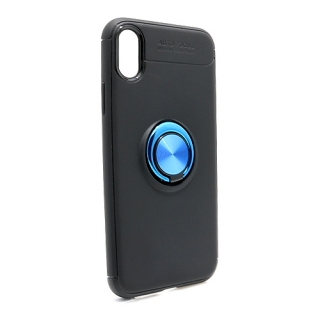 Futrola Elegant Ring za Iphone X/ iphone XS crno-plava