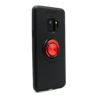 Futrola Elegant Ring za Samsung G960F Galaxy S9 crno-crvena