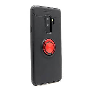 Futrola Elegant Ring za Samsung G965F Galaxy S9 Plus crno-crvena