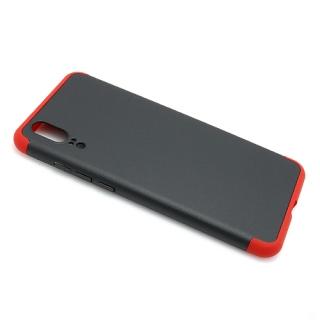 Futrola PVC 360 PROTECT za Huawei P20 crno-crvena