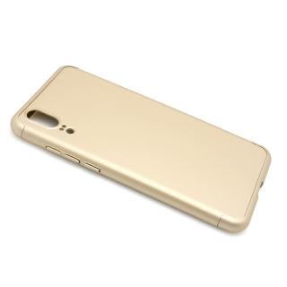 Futrola PVC 360 PROTECT za Huawei P20 zlatna