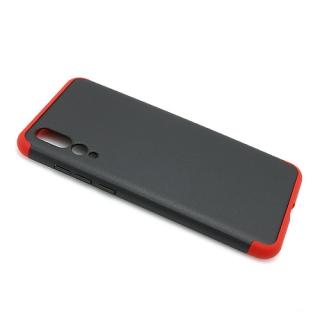 Futrola PVC 360 PROTECT za Huawei P20 Pro crno-crvena