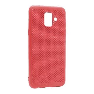 Futrola silikon BREATH za Samsung A600F Galaxy A6 2018 crvena