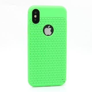 Futrola silikon DROPS za Iphone X zelena