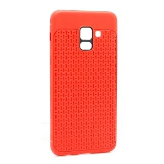 Futrola silikon DROPS za Samsung A530F Galaxy A8 2018 crvena