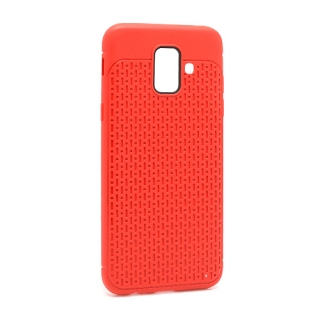 Futrola silikon DROPS za Samsung A600F Galaxy A6 2018 crvena