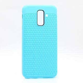 Futrola silikon DROPS za Samsung A605G Galaxy A6 Plus 2018 svetlo plava