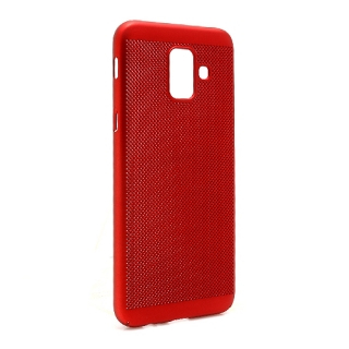 Futrola PVC BREATH za Samsung A600F Galaxy A6 2018 crvena