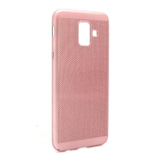 Futrola PVC BREATH za Samsung A600F Galaxy A6 2018 roze